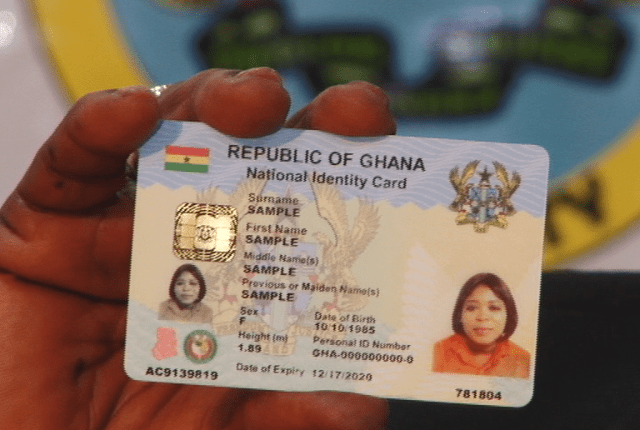 3 steps to register Ghana Card online and get it instantly at NIA Office